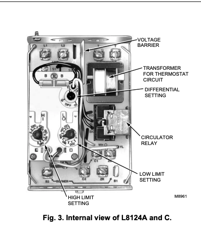 How To Disable The Aquastat S Lo Diff Function How Why To Turn Off The Lo Diff Portion Of An Aquastat Heating Boiler Control When Not Using The Tankless Coil To Make Domestic Hot